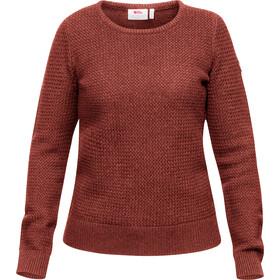 Fjällräven Övik Structure Sweater Damen terracotta pink